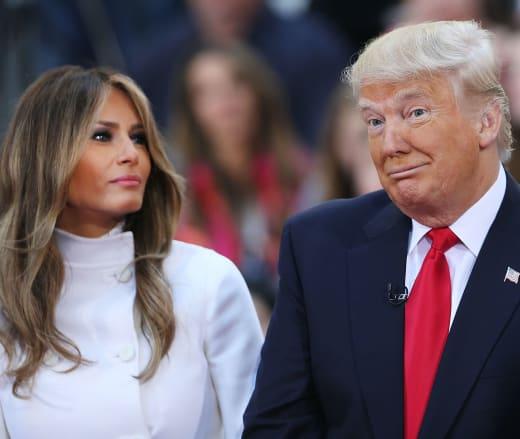 Donald Trump y Melania Trump Pic