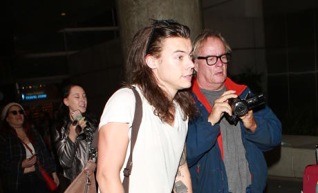 Harry Styles, Nina Dobrev & More: Star Sighings 1.21.16