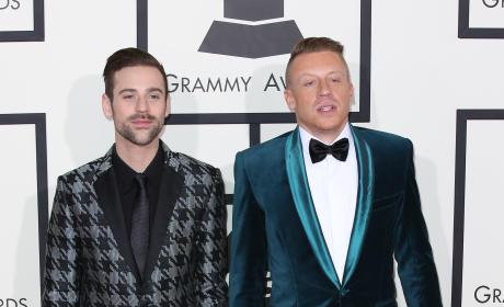 Macklemore and Ryan Lewis at the Grammys