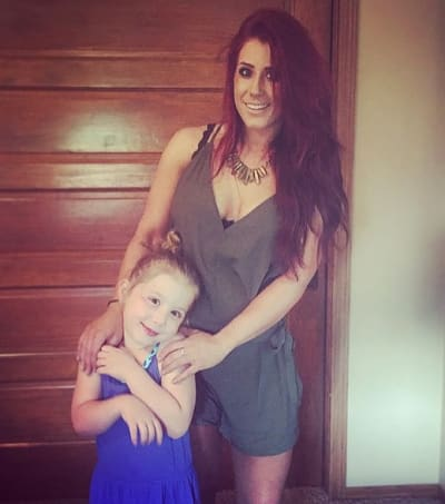 Chelsea and Aubree Houska