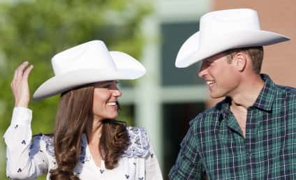 Royal Rodeo: Kate Middleton & Prince William Don Cowboy Hats, Look Adorable