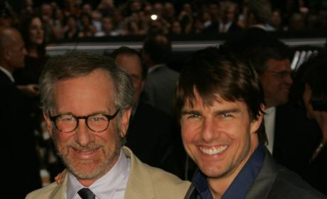 Tom Cruise And Steven Spielberg Photo
