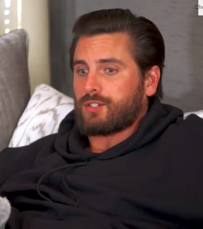 Scott Disick Sits and Chats