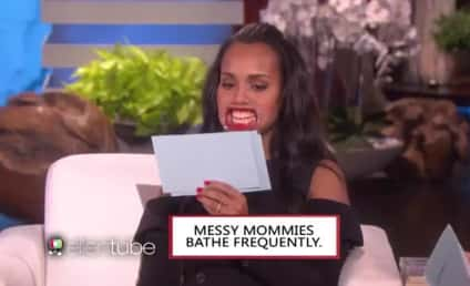 Kerry Washington: What the Heck Did She Say on Ellen?
