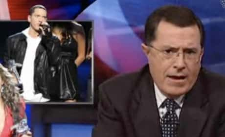 Stephen Colbert on Kanye
