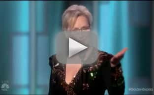 Meryl Streep Attacks Donald Trump at Golden Globes (And Trump Responds!)