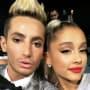 Frankie Grande and Ariana Grande Selfie