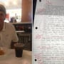 Internet Hero Responds to Ex-Girlfriend's Apology Note