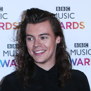 Harry Styles at BBC Music Awards