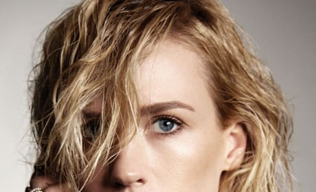 January Jones: Wet and Stunning