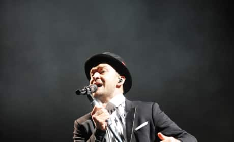Justin Timberlake in The UK
