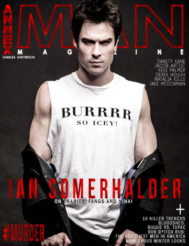 Ian Somerhalder Annex Man Cover