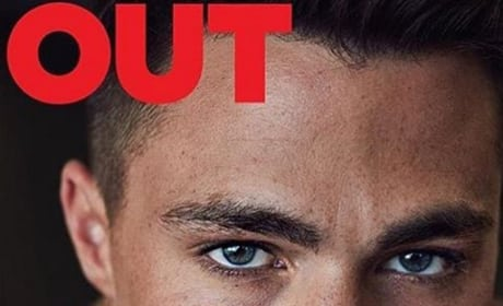 Colton Haynes OUT Cover