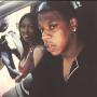 Kenya Moore and Jay-Z