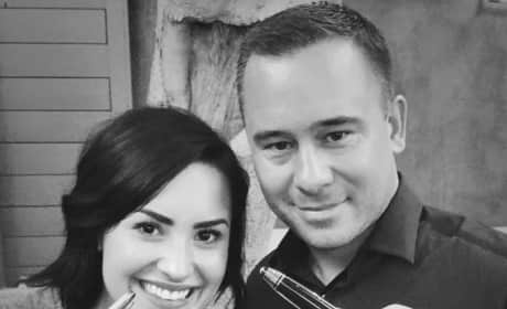 Demi Lovato and Phil McIntyre