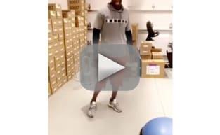 Kim Kardashian Sauna Suit Video