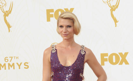 Claire Danes at the 2015 Emmys