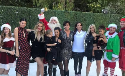 Kardashian Christmas Photo Released... But Where's Kylie?!?