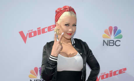 Christina Aguilera: 'The Voice' Karaoke For Charity at HYDE Sunset: Kitchen + Cocktails