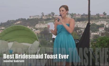Maid of Honor Raps Amazing Toast