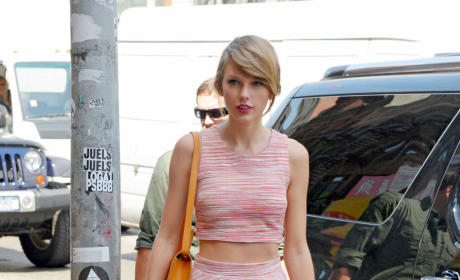 Taylor Swift Hits the Gym