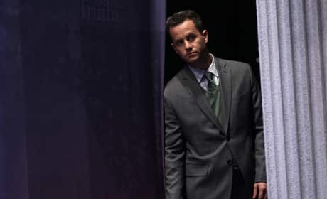 Kirk Cameron Waits Backstage At The 2012 Conservative Political Action Conference