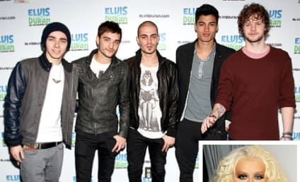 "Christina Aguilera Called ""Total Bitch"" By The Wanted"