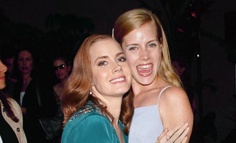 Amy Adams in 2014 and 1999