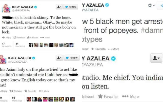 Iggy azalea offensive toward mexican americans