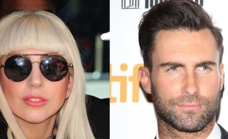 Adam Levine-Lady Gaga Twitter Feud
