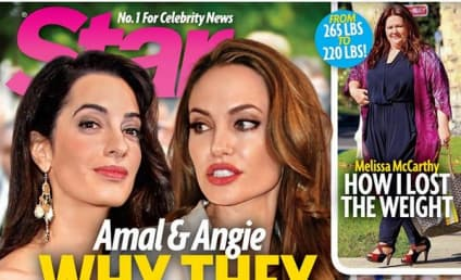 Angelina Jolie and Amal Alamuddin HATE EACH OTHER, According to Ridiculous Tabloid Report