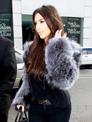 Kim Kardashian in LA