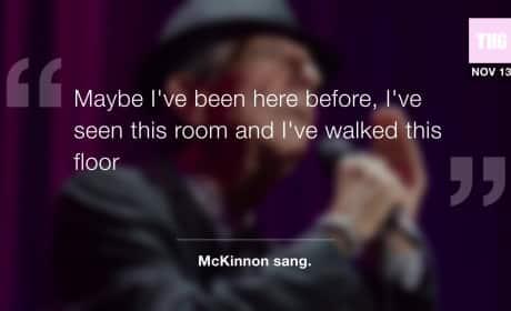 "Kate McKinnon Opens SNL with ""Hallelujah"""