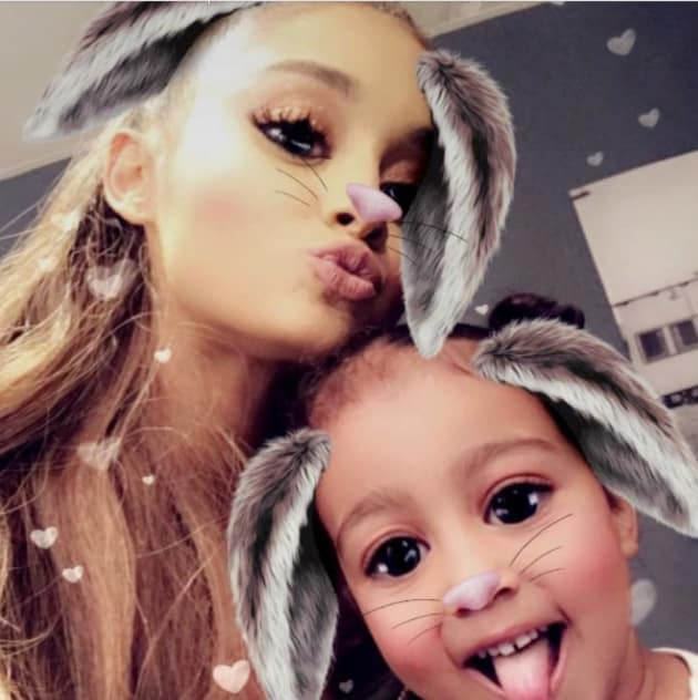 Ariana Grande & North West