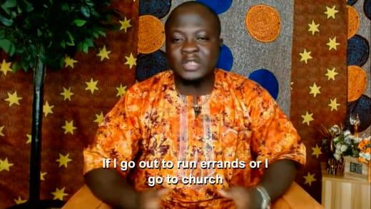 Michael Ilesanmi - Je sors faire des courses ou je vais à l'église
