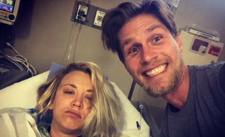 Kaley Cuoco and Karl Cook, Hospital Honeymoon