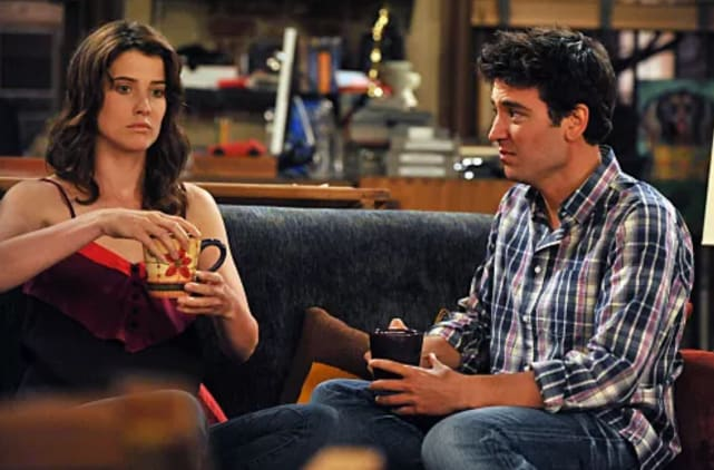 Ted and robin how i met your mother