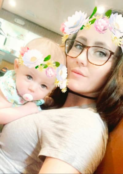 Jenelle Evans and Her Sweetheart