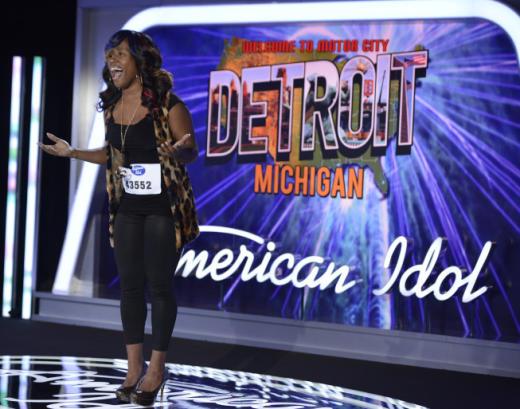 Olivia Diamond on American Idol