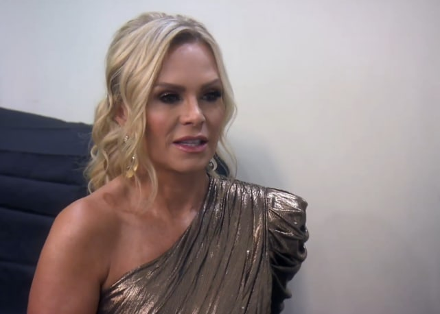 Tamra judge glitters in gold at the reunion