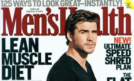 Liam Hemsworth Men's Health Cover
