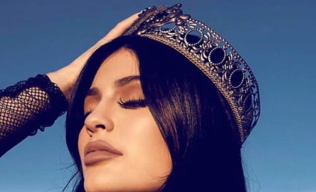 Kylie Jenner with a Crown On