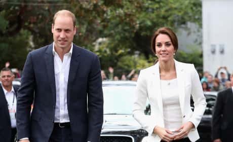 Kate Middleton Prince William Cridge Center Canada 2016