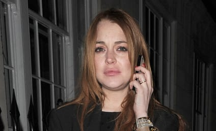 Lindsay Lohan: Drunk in London; Hiding From Oprah?
