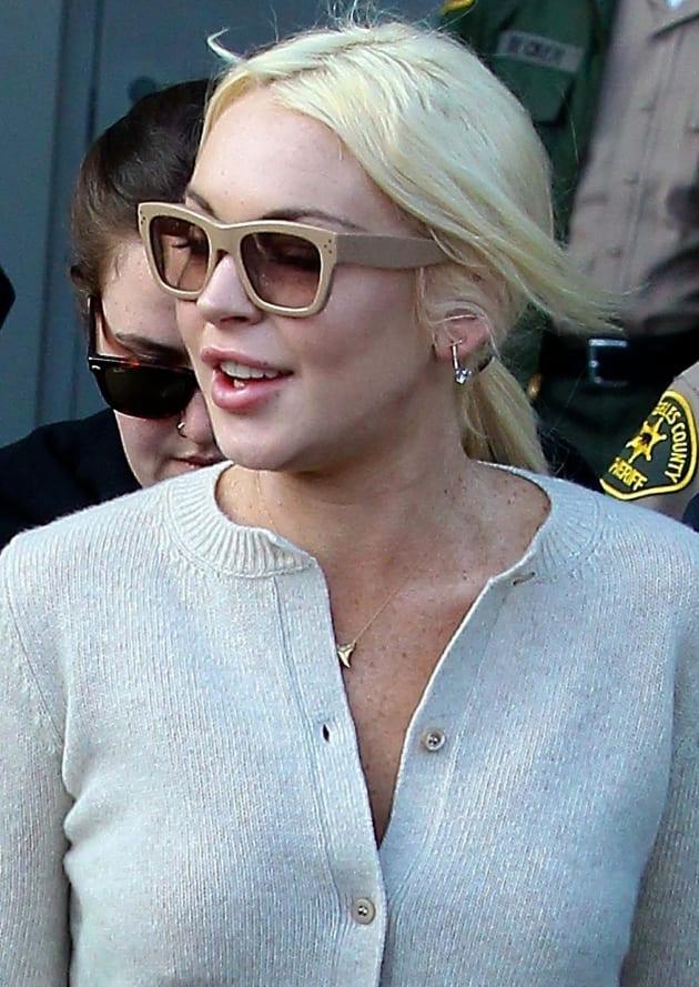 Lindsay Lohan, Glasses