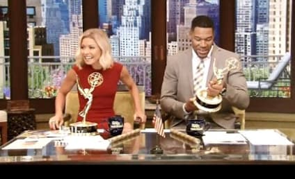 Kelly and Michael Celebrate Daytime Emmy Awards Win