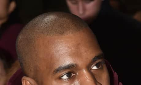 Kanye West Sneering