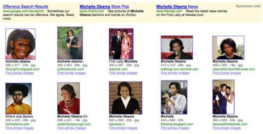Michelle Obama Offensive Pic