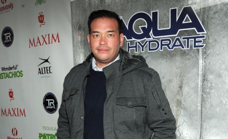 Jon Gosselin in a Gray Jacket Photo