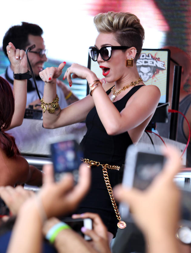 Miley Cyrus in South Beach